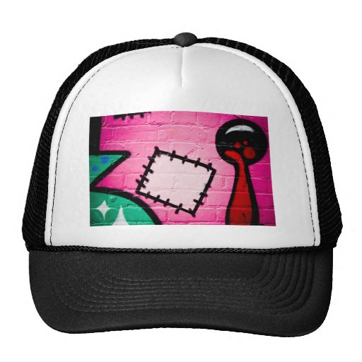Graffiti Patch and Lolly. Hat
