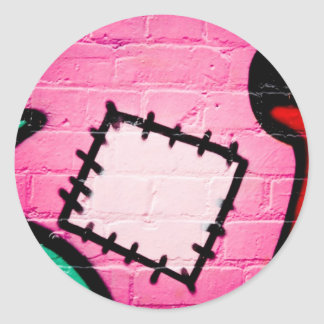 Graffiti Patch and Lolly. Stickers