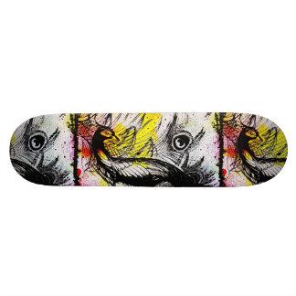 Graffiti Peacock Skateboard