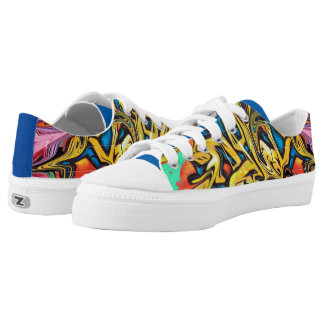 Graffiti Printed Shoes