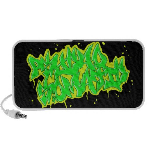 GRAFFITI psychosomatic doodle speaker
