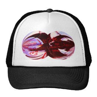 Graffiti remix trucker hat