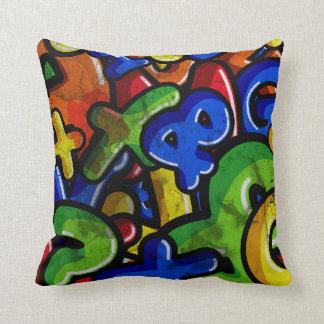 Graffiti Rumble Cushion