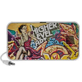 Graffiti Series: Higher Level Art Laptop Speaker