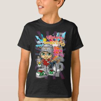 Graffiti servant boy and background T-Shirt