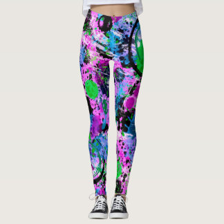 Graffiti Smoothie Leggings