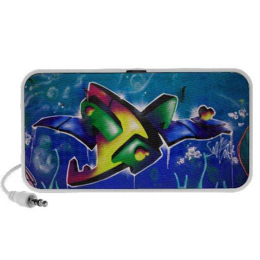 Graffiti Portable Speaker