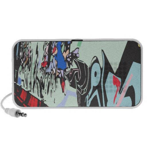 graffiti speaker