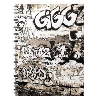 Graffiti Spiral Notebook