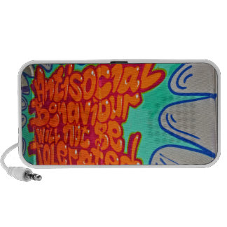 Graffiti/Street Art Doodle speakers