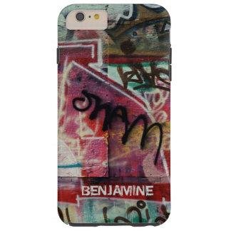 Graffiti Street Grunge Art-Monogram Tough iPhone 6 Plus Case