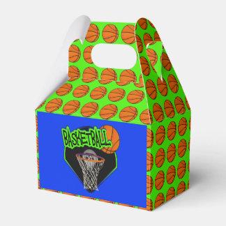 Graffiti Style Basketball and Hoop Favour Box