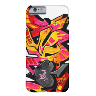 Graffiti style lettering barely there iPhone 6 case
