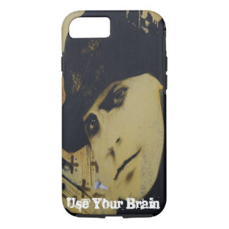 Graffiti style Use Your Brain iPhone 7 Case