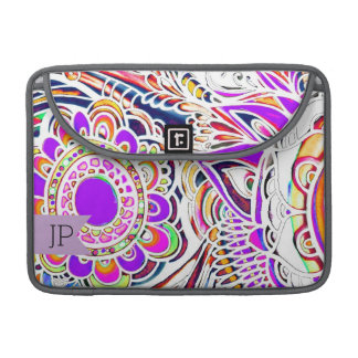 "Graffiti Sun Burst MacBook Pro 13"" Sleeve"