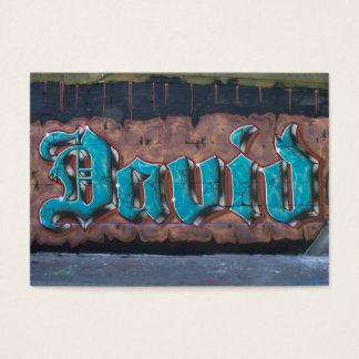 Graffiti Tag: David