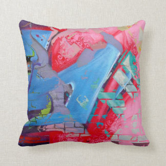 GRAFFITI THROW CUSHION