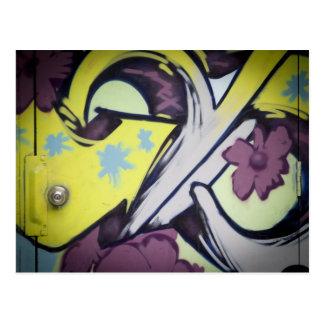 Graffiti-Toronto-Queen West Postcard