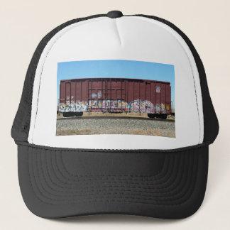 Graffiti Train - Rust Freight Train Trucker Hat