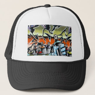 Graffiti Trucker Hat