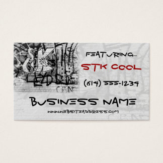 Graffiti Wall Art Design Web TShirt Business Card