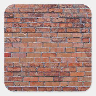 Graffiti Wall Square Sticker