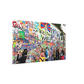 Graffiti Wall street Musicians & Artists Wall Art