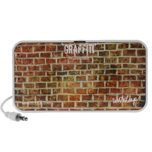 'Graffiti' Watercolor MP3 Speaker by unASLEEP