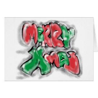 Graffiti Xmas Card