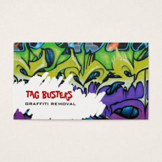 Graffitit removal business card