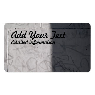 graffitti wall Double-Sided standard business cards (Pack of 100)