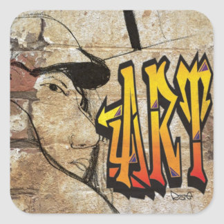 Grafiti Artist Sticker