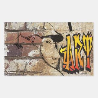 Grafiti Artist Rectangle Sticker