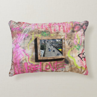 Grafitti Drive Decorative Cushion
