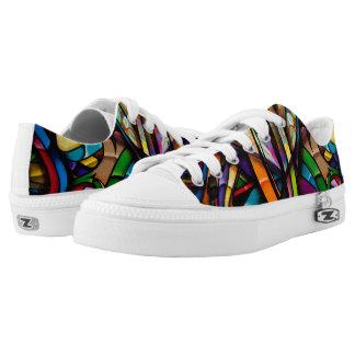 Grafitti Hip Hop Printed Shoes