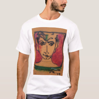 Grafitti Portrait T-Shirt