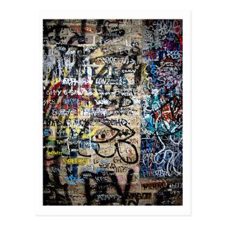 Grafitti South St. Philadelphia Postcard