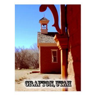 Grafton Ghost Town Postcard