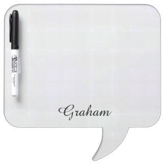 Graham clan Plaid Scottish tartan Dry Erase Whiteboards