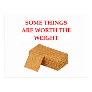 graham crackers postcard