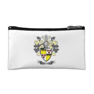Graham Family Crest Coat of Arms Makeup Bag