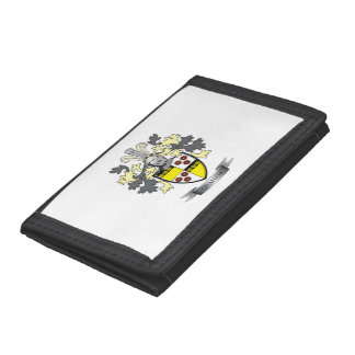 Graham Family Crest Coat of Arms Tri-fold Wallets
