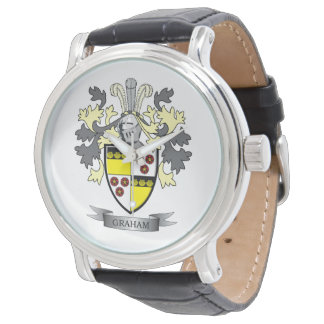 Graham Family Crest Coat of Arms Watch