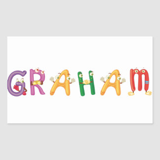Graham Sticker