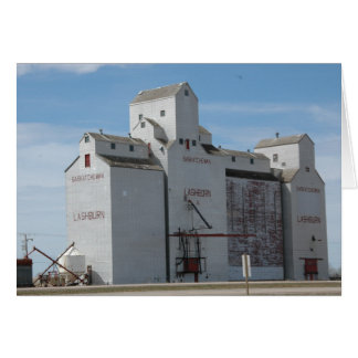 Grain Elevator in Canada Card