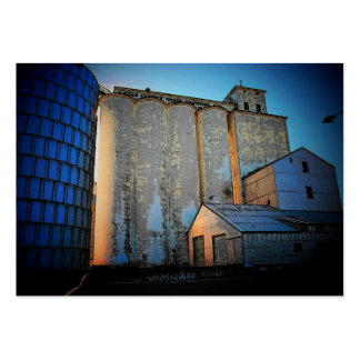 Grain Elevators Profile Card Pack Of Chubby Business Cards