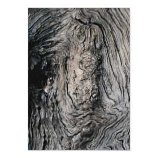 Grain of an ironwood tree, South Africa Card