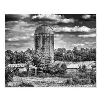 Grain Silo - Temple Hill, KY Photo Print