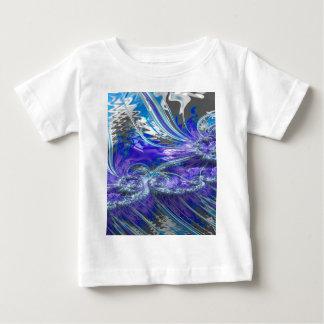 Grained Festiveness Fractal 4 Baby T-Shirt