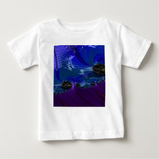 Grained Festiveness Fractal 7 Baby T-Shirt